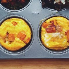 Make Your Weekday Mornings Easier: Make Muffin-Tin Eggs photo