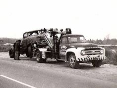 Vintage Tow Trucks and Wreckers -www.TravisBarlow.com - Towing, Auto Transporter and Commercial Truck Insurance for over 30 Years.