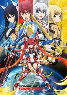 Crunchyroll - Gonna be the Twin-Tail! Wall Scroll