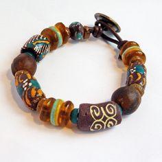 Ghana bead bracelet