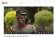 Wangari Maathai is a Kenyan environmentalist and political activist. In the Maathai founded the Green Belt Movement, an environmental NGO focused on e. Green Belt, Environmentalist, Change The World, Dreadlocks, Hair Styles, Youtube, Beauty, Women, Hair Plait Styles