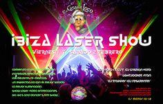Ibiza Láser Show: Viernes 1 y Sábado 2 en La Casa del Loco. Arranca el mes de febrero con dos noches espectaculares en La Casa del Loco. Ibiza Láser Show + Santa Águeda. #LaCasaDelLoco