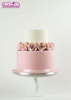 Rose Gold Birthday Cake Rose gold 18th birthday cake, rose gold