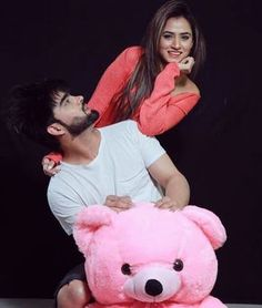 Caption it .. ☺️ @inderchahalofficial #bestie #teddylove #happyme