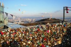 Since I was in love with Korean show, so it should be included as one of ma place-to-go list. This is locks of love, the place where you can write your name and your partner in a lock and hang it. Seems like it would keep your love forever. Korea still has so many other interesting places that I need to visit. Besides, wish I cud meet one of ma Korean Idols like Song Joong Ki, SNSD, 2PM (esp Nichkhun), Running Man members, and the others. I shud be there soon!!!!!
