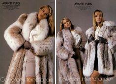 Avanti Furs Ad Campaign Fall/Winter 1987