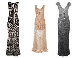 Suggested dress styles for females - great gatsby theme