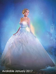 Alfred Angelo Bridal Style 272 from Disney Fairy Tale Wedding Dresses Disney Wedding Dresses, Cinderella Wedding, Cinderella Dresses, Disney Dresses, Princess Wedding Dresses, Wedding Gowns, Cinderella Theme, Disney Weddings, Bridal Gowns
