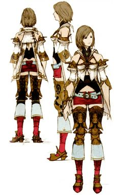 Ashe Concept from Final Fantasy XII