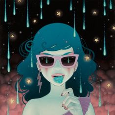 "Tara McPherson's ""I Know It By Heart."" Currently... - SUPERSONIC ART"