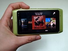 I worked with Nokia Symbian 3 family Music Player team. I was mainly sparring them on UI related issues.