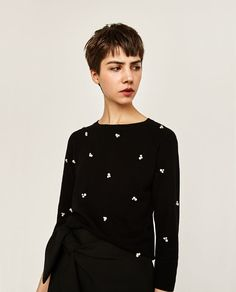 Image 4 of PEARL SWEATER from Zara