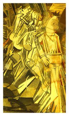 Marcel Duchamp: Nerd Descending a Stair