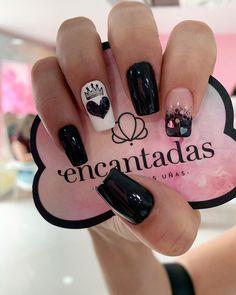 Nude Nails, Black Nails, Nail Decorations, Nail Spa, French Nails, Winter Nails, Short Nails, Pretty Nails, Nail Art Designs