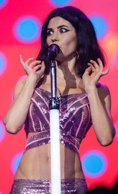 Marina and the Diamonds.  Lollapalooza 2016