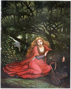 Beauty and the Beast by Eleanor Vere Boyle. Welcome to our Beauty and the Beast illustration gallery. A beautiful collection of vintage illustrations from fairy tales of the Golden Age.
