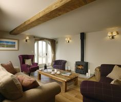 Cosy lounging, perfect for chilling out.