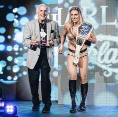 Ric & Charlotte Flair Charlotte Flair Wwe, Catch, Wwe Female Wrestlers, Ric Flair, Wwe Wallpapers, Raw Women's Champion, Wrestling News, Wwe Womens, Wwe Photos