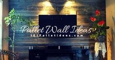 Pallet Wall Ideas (1)