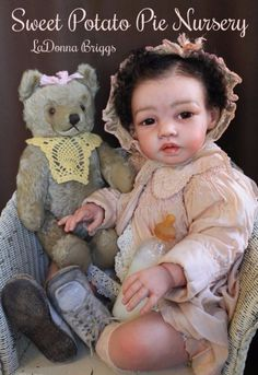"PROTOTYPE Asian 28"" huge Toddler reborn baby doll, Mei-Lin by Jannie de Lang,"