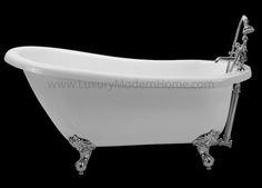"""PISO - 61"""" Clawfoot Bathtub"""