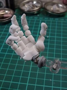 3d Printed Robot, Stop Motion Armature, Custom Puppets, Robot Hand, Retro Robot, Gundam Custom Build, Robot Girl, Gundam Art, Anime Figurines
