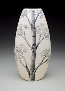 Beautiful pottery by artist Heesoo Lee.
