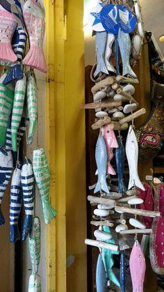 Mallorca - hanging fish ornaments