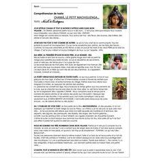 Lire et apprécier textes variés:Chamà (Pérou) Lus, Socialism, 9 Year Olds, Texts, I Want You, Reading