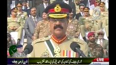 General Raheel Sharif's Last Speech Before Retirement, at GHQ Change of ...