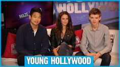 THE MAZE RUNNER Cast on Pink Party Buses & Greenie Moments!