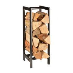 Range Bûches Design pour Intérieur  en Acier au Carbone Noir WADIGA : prix, avis & notation, livraison.  Range bûche en acier épuré et pratique pour votre intérieur. Ce porte bûches se pose à côté de la cheminée pour une touche déco, chaleureuse et vous permettant d'avoir sous la main votre réserve de bûches. Dimensions: Long. 30,0cm x larg. 23,5cm x Haut. 59,7 cm Couleur: Noir Matière: Acier au Carbone