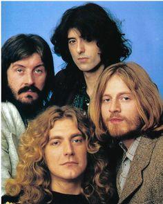 Led Zeppelin (Clockwise from Bottom Left): Robert Plant, John Bonham, Jimmy Page, John Paul Jones Robert Plant Led Zeppelin, John Paul Jones, Jimmy Page, People Magazine, Beatles, John Bonham, Entertainment Weekly, Top 10 Canciones, Led Zeppelin Wallpaper