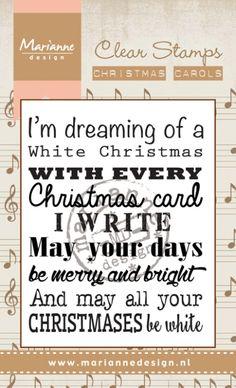 Cs0948 Christmas carol - White Christmas