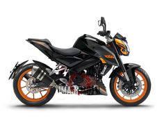 Modifikasi Pulsar P 200 NS Super Duke Style