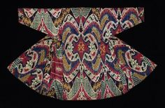From Seattle Asian Art Museum - Robe (Young Adult). 1870s. Made in Central Asia, Uzbekistan