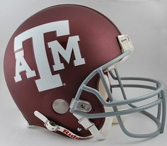 Texas A&M Aggies Riddell Full Size Authentic Helmet