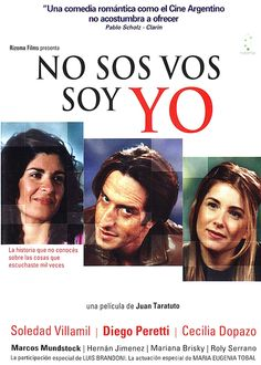 """#Argentina """"No sos vos, soy yo"""" (2004). Director: Juan Taratuto. #Comedy Javier and Maria live together. Discontent with life in Argentina, they plan to migrate to Miami in search for a better life."""