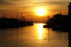 #amazing #sunset in Castiglione della Pescaia