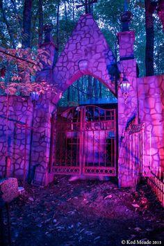 Halloween outside or outdoor lighting ideas 2017