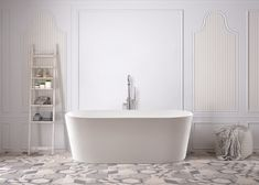 Unwind with the Kunene. Stretch out and relax as this spacious freestanding bathtub takes you on a tranquil bathing experience of pure indulgence. Front Gate Design, Kitchen Cabinet Remodel, Front Gates, Bath Water, Dream Rooms, Clawfoot Bathtub, Corner Bathtub, Furniture Design, Kitchen Furniture