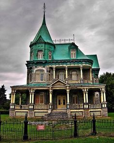 Abandoned Victorian House. Quebec, Canada - #AllAbandoned #abandoned #all_is_abandoned #abandoned_junkies #abandonedplaces #abandonedworld #abandonedhouse #abandonedearth #abandonedplaces #abandonedporn #abandonedbuilding
