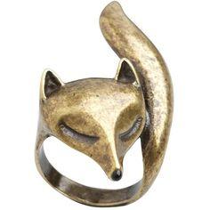 Aubin & Wills Longheath Ring ($20) ❤ liked on Polyvore bling, fashion, style, accessori, aubin, fox ring, foxes, longheath ring, jewelri