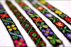 maramures Bead Loom Patterns, Bracelet Patterns, Beading Patterns, Bead Loom Bracelets, Arrow Design, Love Charms, Tear, Bead Jewellery, Loom Beading