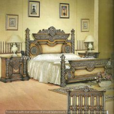 Chiniot Furniture Pakistan Bedroom Set Image Ideas For The House