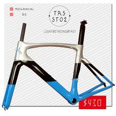 Free shipping T1000 Full carbon fiber road bicycle frame ST02 Blue carbon frame road bike frameset, warranty 2 years #Affiliate