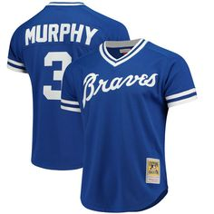 974b39788 Dale Murphy Atlanta Braves Mitchell & Ness Cooperstown Mesh Batting Practice  Royal Blue Jersey - Unique College T-Shirts