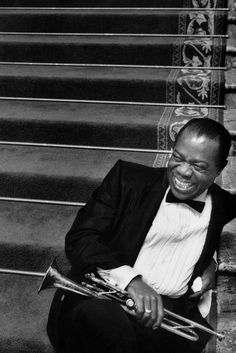 Louis Armstrong. He was very talented, seeing him in old movies is something truly remarkable.