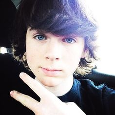 Happy Birthday Chandler Riggs! Can you believe he is 15!!!