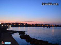 Beautiful seashore - Otranto, Italy